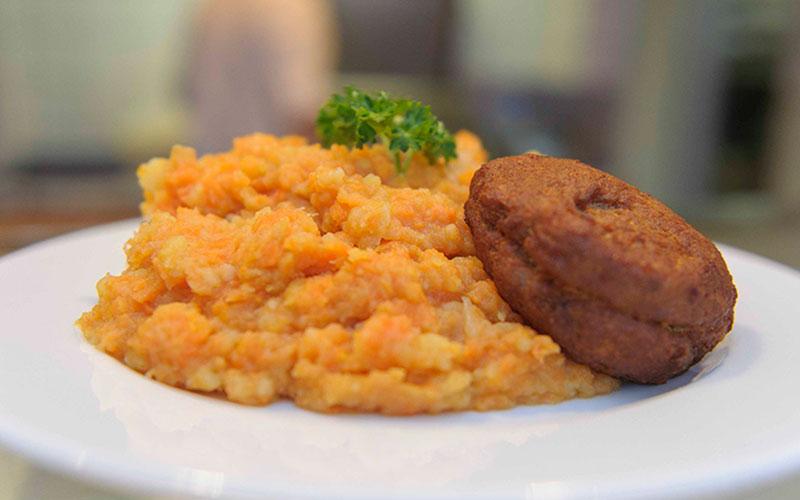Mittagstisch der Fleischerei Caniels